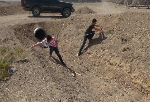新疆阿拉山口东贝洁能光伏项目评估现场