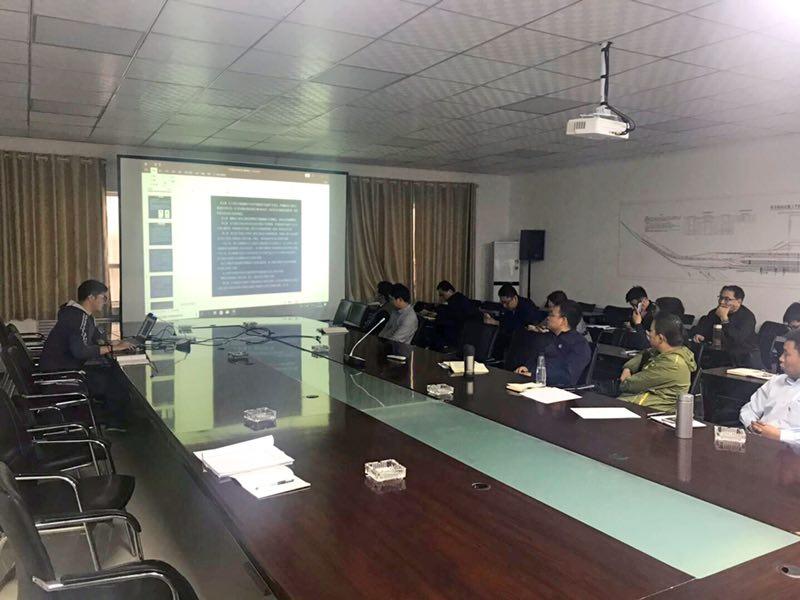 新疆库喀铁路项目新宝5注册培训会