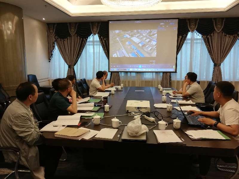 新疆2019年6月4日,新疆国信电厂新宝5注册设施验收会