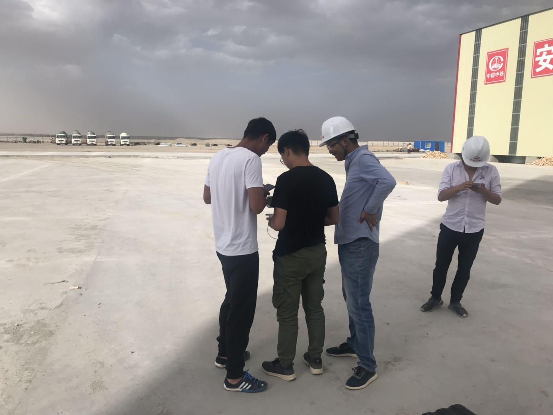 新疆新宝5注册监测外业工作